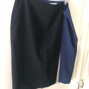 Boden color block pencil skirt, size 14L